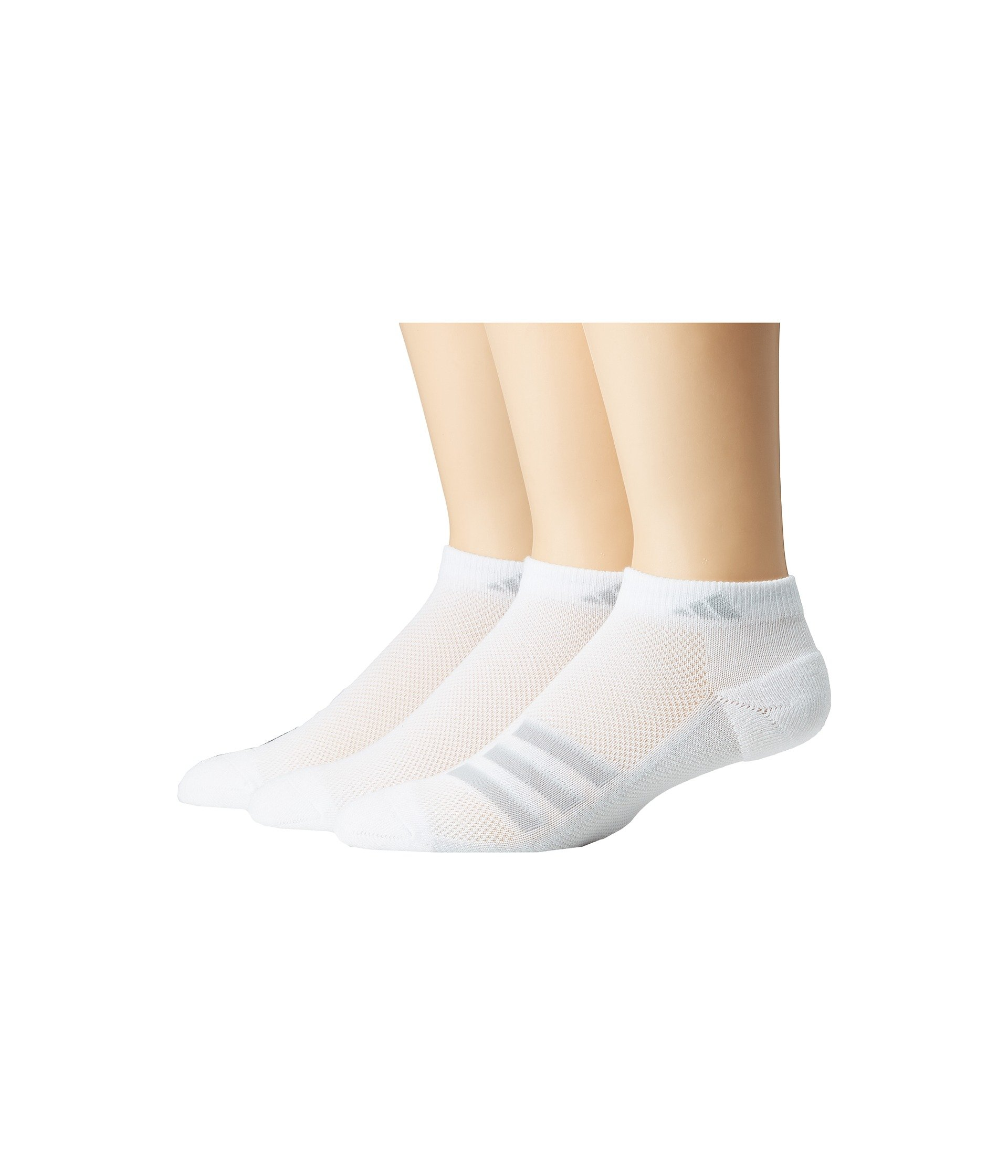 Low Adidas Superlite Grey Climacool® 3 pack clear clear Socks Cut White Onix Stripe 1AwHBqtw