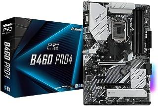 ASROCK B460 PRO4 Supports 10th Gen Intel® Core. processors (Socket 1200) motherboard