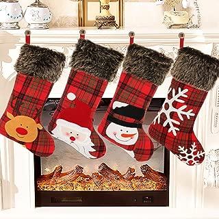 Aitbay Christmas Stockings, 4 Pack 18