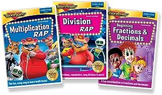 Multiplication & More DVD Collection: Multiplication Rap, Division Rap, Fractions & Decimals