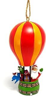 Cape Shore Santa in Hot Air Balloon Holiday Christmas Ornament