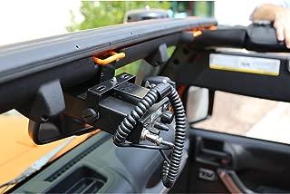 Rugged Ridge 11503.95 CB Radio Mount for 2007-2018 Jeep Wrangler JK Models