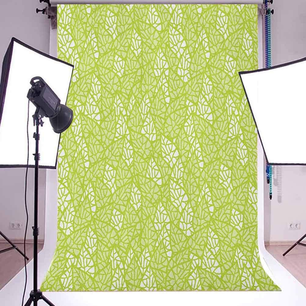 8x12 FT Ikat Vinyl Photography Background Backdrops,Bohemian Pattern Abstract Geometric Elements Soft Peacock Tail Pattern Background for Child Baby Shower Photo Studio Prop Photobooth Photoshoot