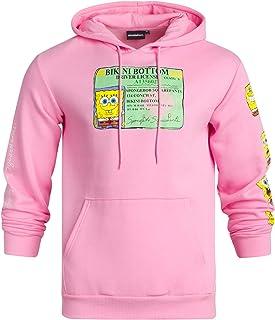 Men's SpongeBob SquarePants Fleece Hoodie – Retro 90s...
