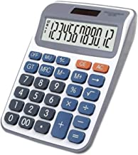 $45 » Z-Color Multi-Function Calculator Standard Function Basic Desktop Calculator, Large Display, for Home and Office, Dual Pow...