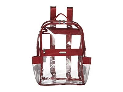 Baggallini Clear Event Compliant Medium Backpack (Deep Red) Backpack Bags
