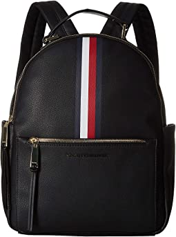 f245e53f2796 Tommy Hilfiger. Althea Pebble PVC Backpack.  59.99MSRP   118.00. Black