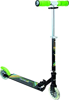 comprar comparacion Authentic Sports & Toys GmbH – Scooter de Aluminio muuwmi Neon 125 mm, con Luces en Las Ruedas, Color Negro/Verde