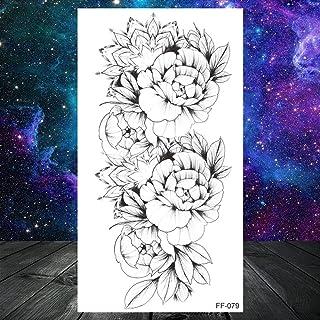 Zwart woord tijdelijke tatoeages voor kinderen vrouwen vrouwen kleine letters tattoo minimalistische karakter stickers wat...