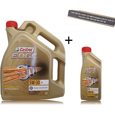 3x 1 L 5 L 8 Liter Castrol Edge Fluid Titanium 5w 30 Ll Motoröl Auto