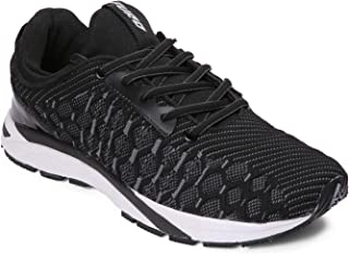 Furo by Red Chief Black Men's Running Shoe (R1025 001)