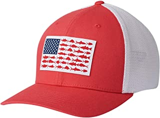 Columbia Peg Mesh Fish Flag Ball Cap