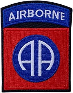 82nd Airborne Division Tactical Patch (Hook Fastener - 3.0 Inch AB7)