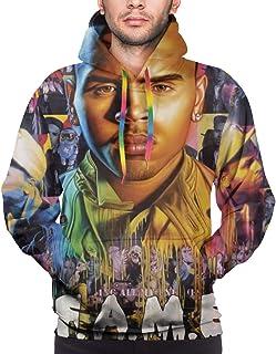 RobertRCastleberry Chris Brown F.A.M.E. 3D Printed Men`s Hoodie Sweatshirt Jacket Sports Hoodies Sweater