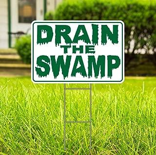 drain the swamp yard signs