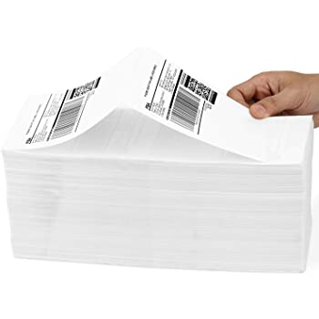 Methdic 4x6 Fold Thermal Direct Shipping Label for UPS USPS 1 Stack (1000 Labels)