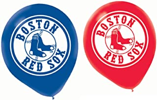 Boston Red Sox Latex Balloon (6 Pack)