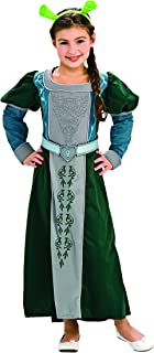 Shrek Child's Deluxe Costume, Princess Fiona Costume, Medium