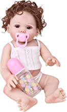 CHAREX Belly Reborn Baby Dolls, 18 Inches Full Body Silicone Vinyl ,Weighted Realistic Baby Doll