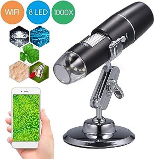 600/x Grossissement Noir VGA Microscope num/érique USB Portable Microscope /électronique avec 4.3/HD Topone 3.6/MP Microscope /électronique num/érique USB EU