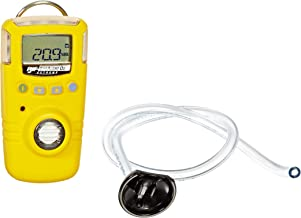 BW Technologies GAXT-X-DL-2 GasAlert Extreme Oxygen (O2) Single Gas Detector, 0-30.0 Percent Measuring Range, Yellow