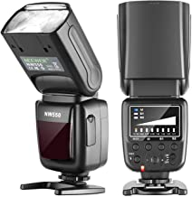 Neewer NW550 Camera Flash Speedlite, Compatible with Canon Nikon Panasonic Olympus Pentax, Sony with Mi Hot Shoe and Other...