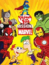 phineas e ferb - missione marvel dvd Italian Import