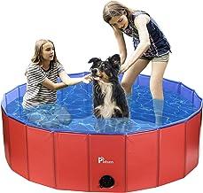 Pidsen Foldable Pet Swimming Pool Portable Dog Pool Kids Pets Dogs Cats Outdoor Bathing Tub Bathtub Water Pond Pool & Kidd...