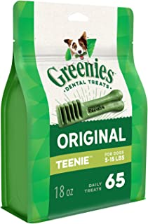 Greenies Mega Dental Treats for Teenie Dog 510 g, 18 oz