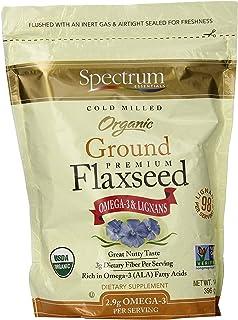 Spectrum Essential Flaxseed Organic Grnd Essential 14 Oz (3 Pack)