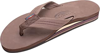 Men's Premier Leather Double Layer with Arch Wide Strap