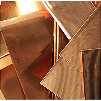 IQQI Copper Sheet Round 0.8mm150mm Pure Copper Metal Sheet Foil,for Cutting and Engraving Decoration DIY 2 Pcs