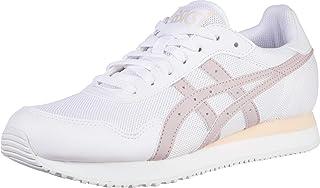 Tiger Women's Tiger Runner Shoes, 10M, White/Watershed Rose