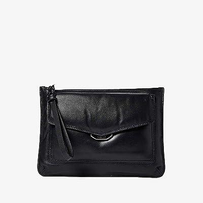 rag & bone Field Wristlet Puffer (Black) Handbags