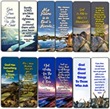 Top Bible Verses on God's Blessing and Favor On Our Lives Bookmarks (30 Pack) - Handy Blessing Bible Texts That are Easy to Bring Along with You
