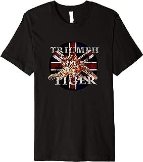Vintage Triumph Tiger Classic Bike  Premium T-Shirt