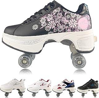 حذاء رياضي رجالي من PLMOKN مناسب للتزحلق على الجليد في الهواء الطلق للفتيات