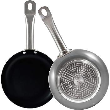 Bergner Set 2 sartenes Ø20/Ø24cm Professional Chef Platinum: Amazon.es: Hogar