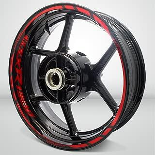 Gloss Red Motorcycle Rim Wheel Decal Accessory Sticker for Suzuki GSXR 1300 Hayabusa