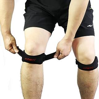 VIMOV Rodilla Protector (2 Pack) - Cinta Rotuliana para tendinitis, artritis, Tenis, Correr, Saltar