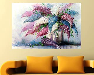 SAI creatives Single Frame,Beautiful Wall Painting of Floral Art for Living Room, Bedroom,Drawing Room with Wooden Framed ...