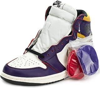 Nike Herren Air Jordan 1 High OG Defiant Lakers Court Violett/Schwarz Leder