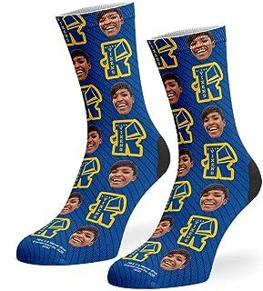 Super Socks, River Vixens Riverdale - Calcetines de cara personalizados, para fotos de cara personalizada, de polialgodón suave, regalos personalizados para mujeres y hombres, añade tu foto