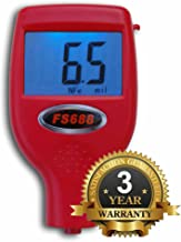 FenderSplendor FS688 Paint Meter/Gauge. 15,000 Meters Sold to Date, Sold and Warrantied in the USA with 3 Year Exchange Warranty. Avoid $3000 Losses When You Miss Paintwork.