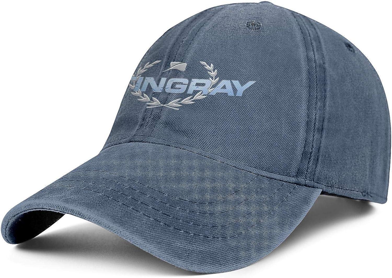 YYWCJ Baseball Hat Stingray-Boats-Logo- Snapback Men Womens Adjustable Denim Hip Hop Cap