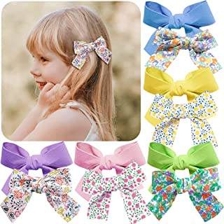 10 Pcs Hair Bow Clips Barrettes for Girls Alligator Clips Flowers Non Slip Hair Accessories for Babies Infant Toddlers Kid...