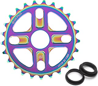 Salt Plus Manta Bolt Drive Sprocket 25t Oilslick Includes Adaptors for 19 and