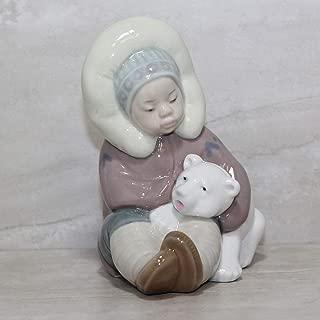 Lladro Eskimo Figurine