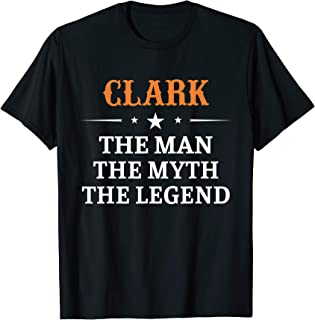 CLARK The Man The Myth Legend T-Shirt Vintage Tee