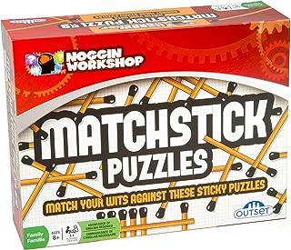 Outset Media Noggin Workshop Matchstick Puzzles